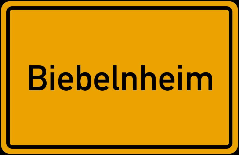 onlinestreet Branchenbuch für Biebelnheim
