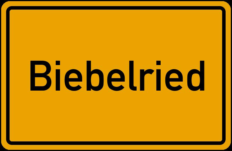 onlinestreet Branchenbuch für Biebelried