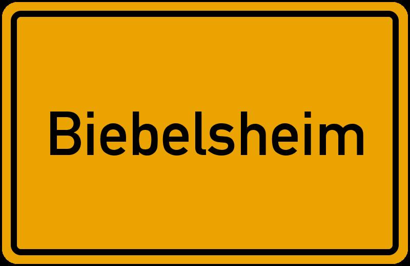onlinestreet Branchenbuch für Biebelsheim