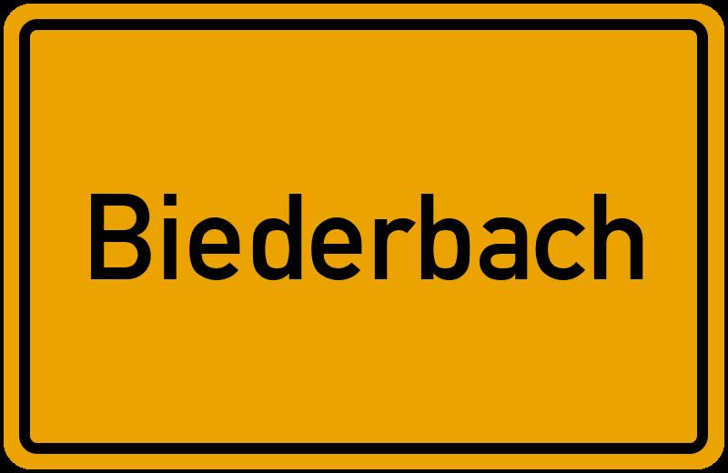 onlinestreet Branchenbuch für Biederbach