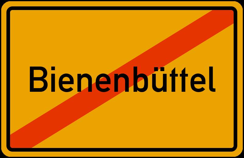 Ortsschild Bienenbüttel