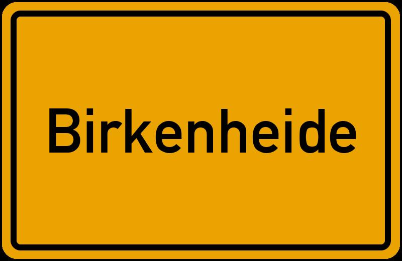 onlinestreet Branchenbuch für Birkenheide