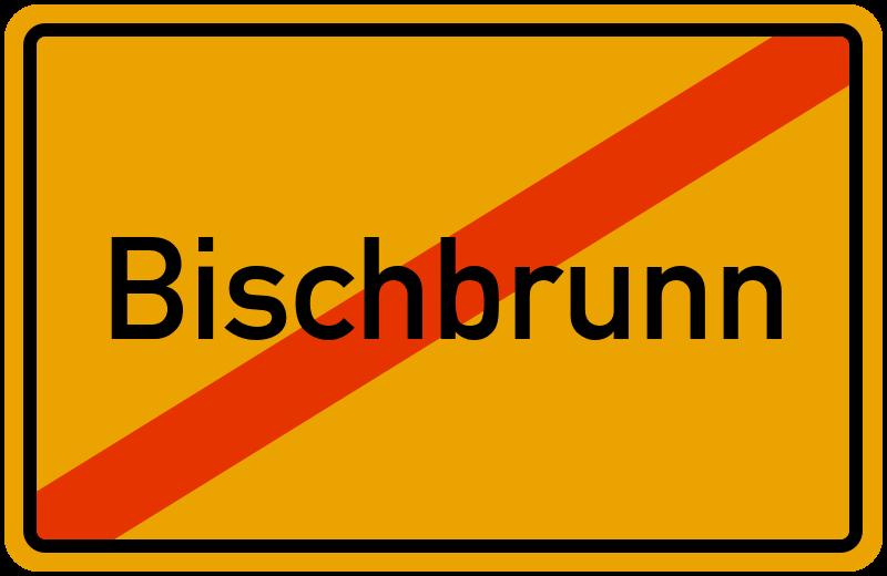 Ortsschild Bischbrunn