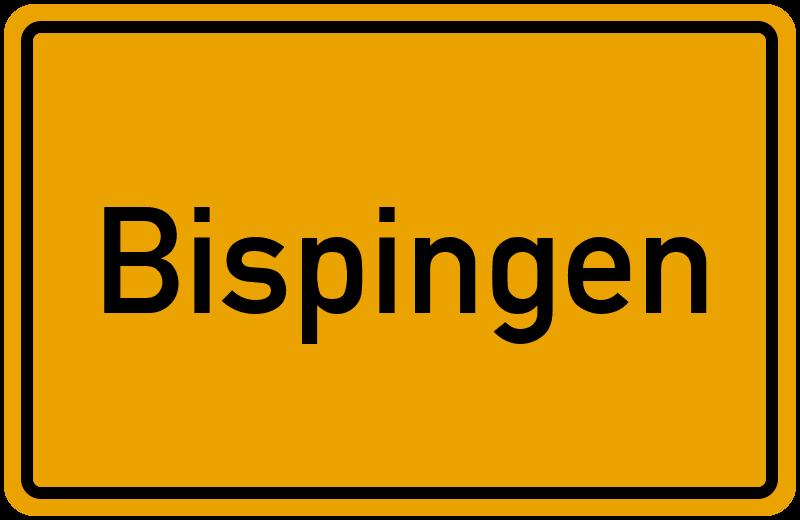 Ortsschild Bispingen