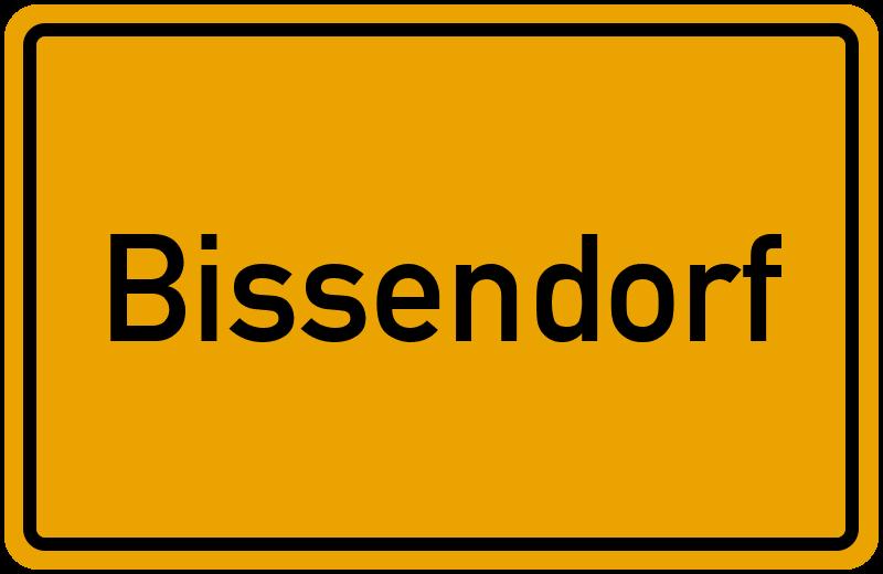 Ortsschild Bissendorf