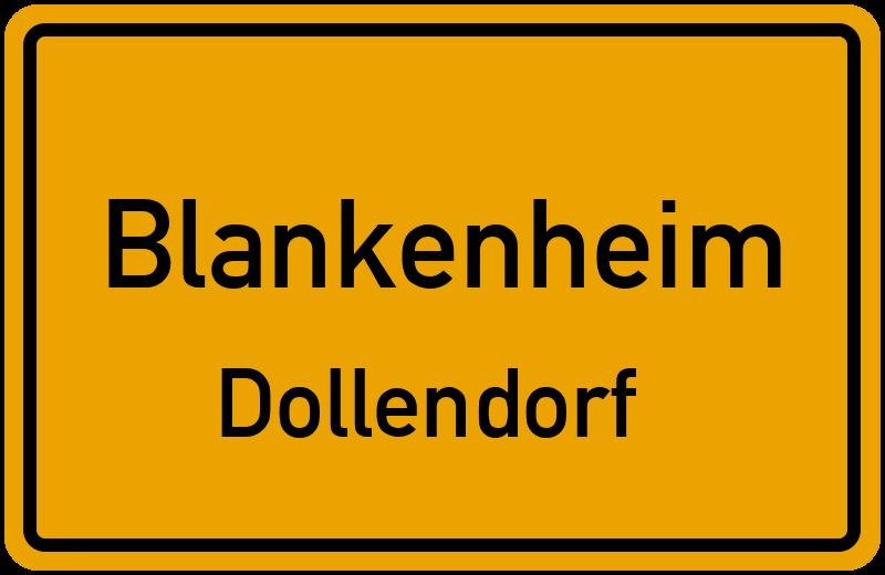 Ortsschild Blankenheim