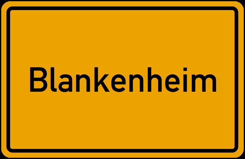 onlinestreet Branchenbuch für Blankenheim