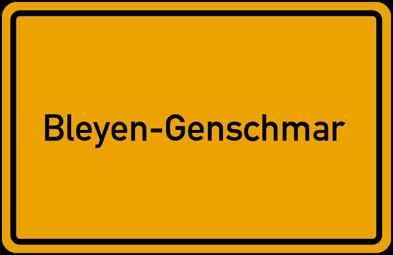 onlinestreet Branchenbuch für Bleyen-Genschmar