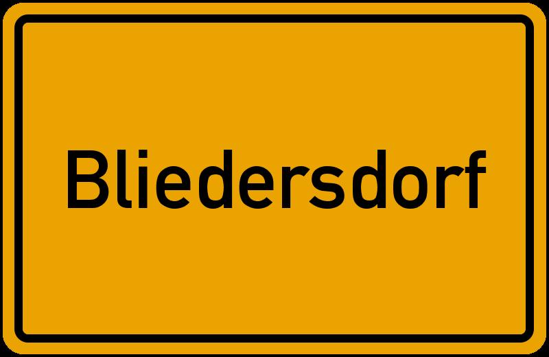 onlinestreet Branchenbuch für Bliedersdorf