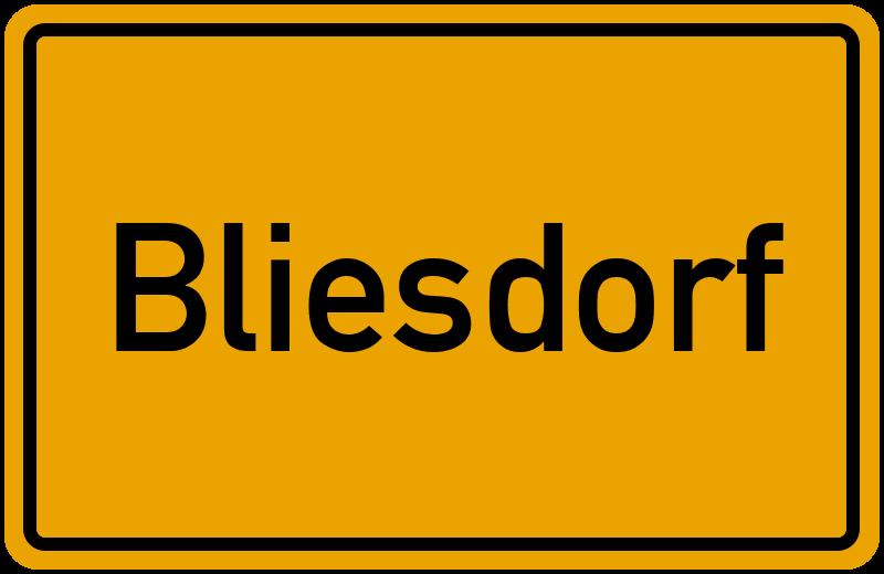 onlinestreet Branchenbuch für Bliesdorf