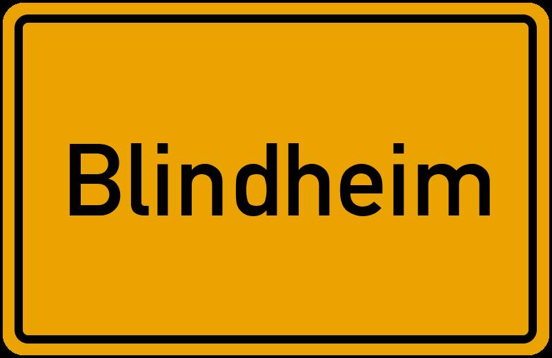 onlinestreet Branchenbuch für Blindheim