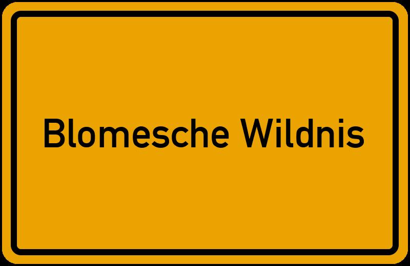 onlinestreet Branchenbuch für Blomesche Wildnis