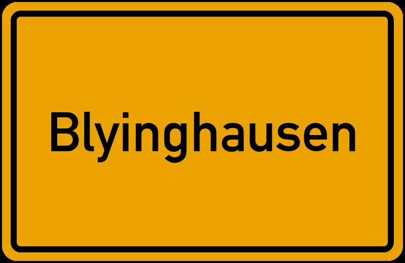 onlinestreet Branchenbuch für Blyinghausen