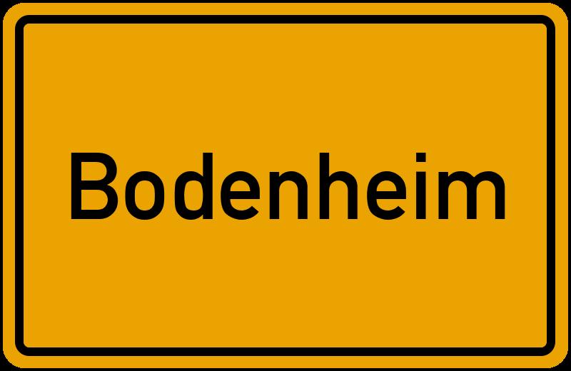 onlinestreet Branchenbuch für Bodenheim