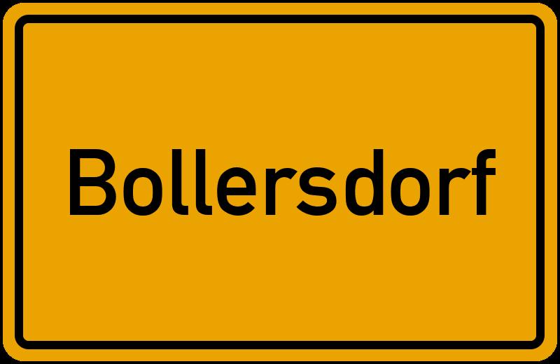 onlinestreet Branchenbuch für Bollersdorf