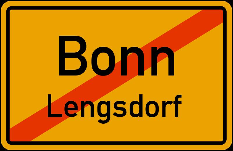 Ortsschild Bonn