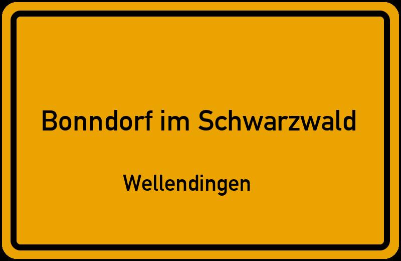 Karte Schwarzwald Zum Ausdrucken.Ortsschild Bonndorf Im Schwarzwald Wellendingen Kostenlos Download