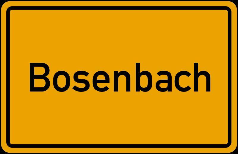 onlinestreet Branchenbuch für Bosenbach