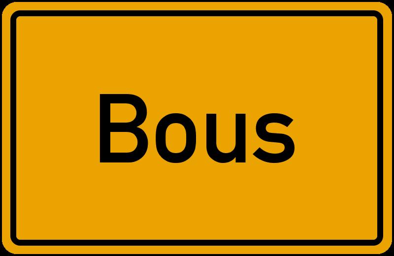 onlinestreet Branchenbuch für Bous