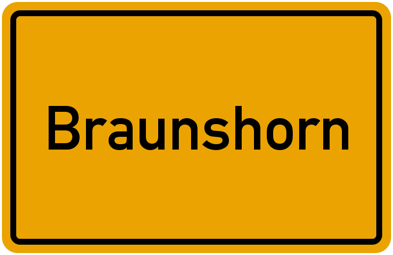 onlinestreet Branchenbuch für Braunshorn
