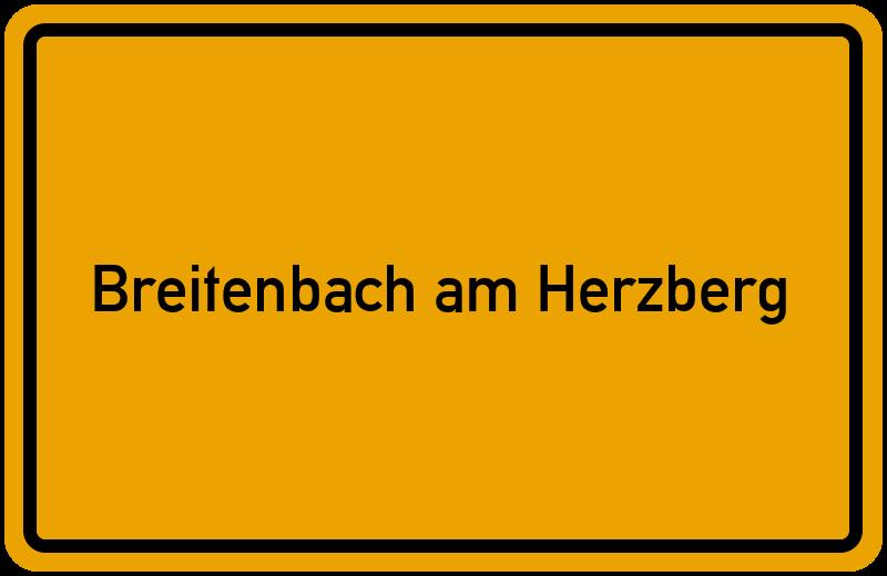 onlinestreet Branchenbuch für Breitenbach am Herzberg