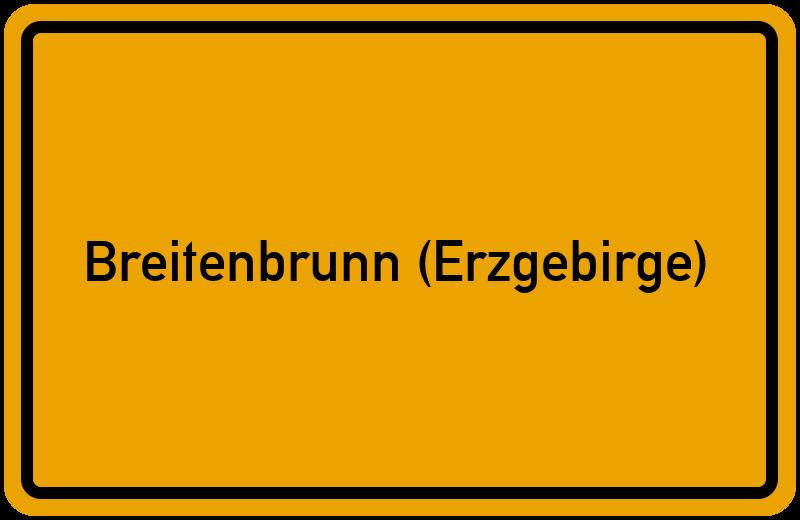 onlinestreet Branchenbuch für Breitenbrunn (Erzgebirge)