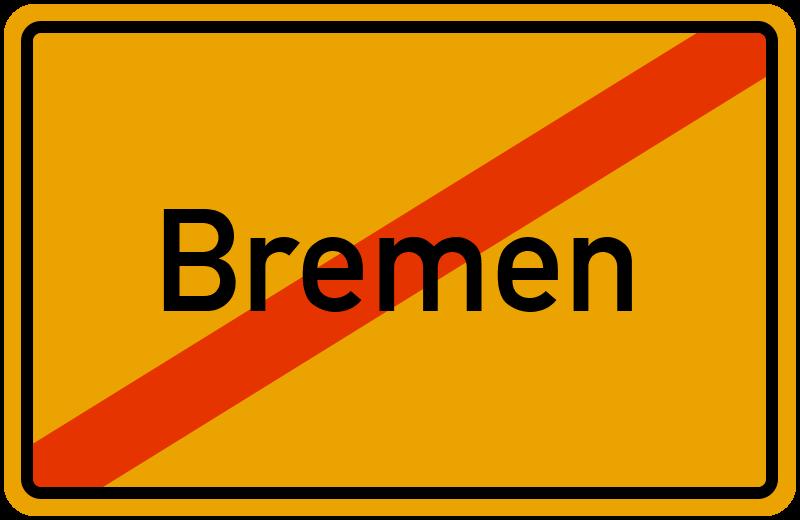 Ortsschild Bremen