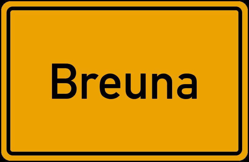 onlinestreet Branchenbuch für Breuna