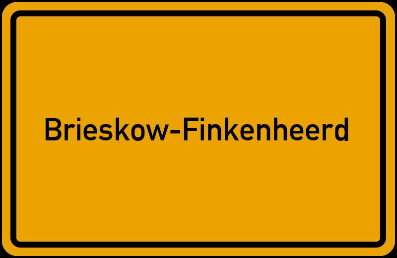 onlinestreet Branchenbuch für Brieskow-Finkenheerd