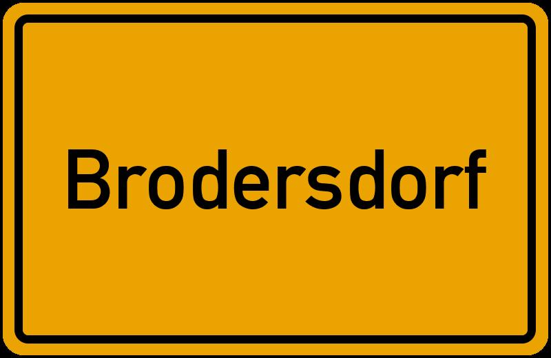 onlinestreet Branchenbuch für Brodersdorf
