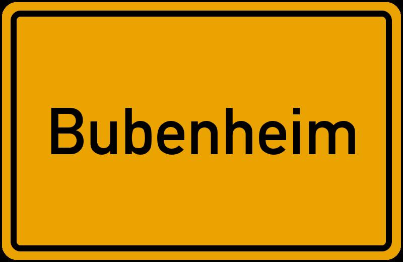 onlinestreet Branchenbuch für Bubenheim