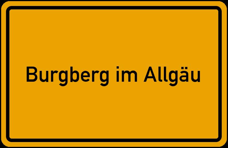 onlinestreet Branchenbuch für Burgberg im Allgäu