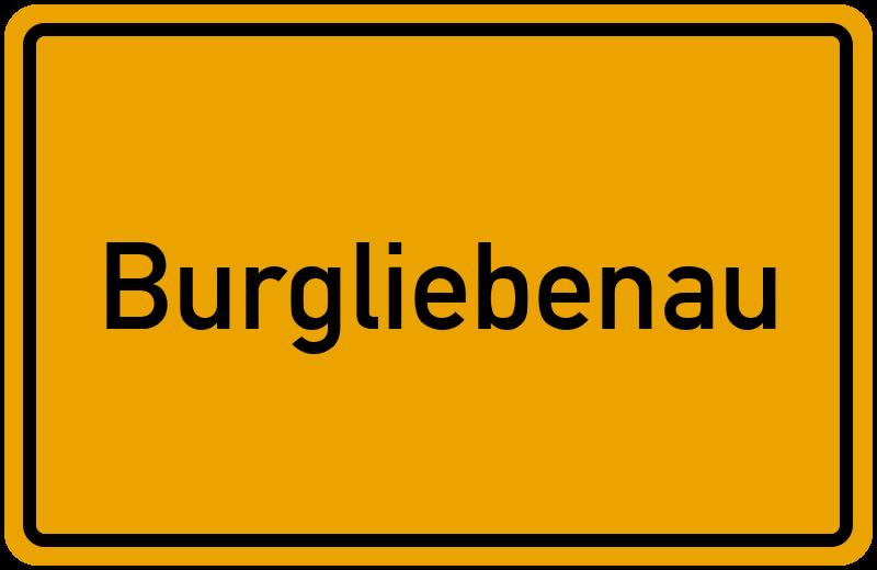 onlinestreet Branchenbuch für Burgliebenau