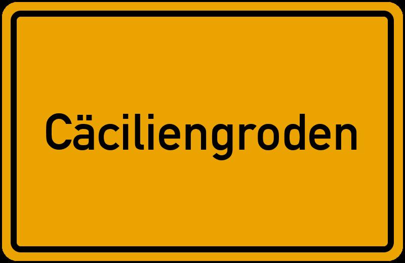 onlinestreet Branchenbuch für Cäciliengroden