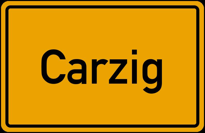 onlinestreet Branchenbuch für Carzig