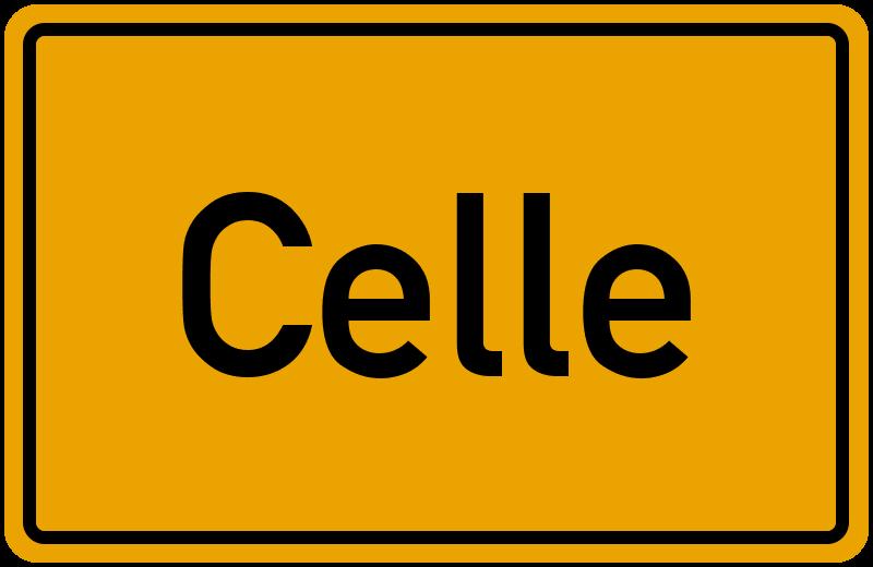 Ortsschild Celle