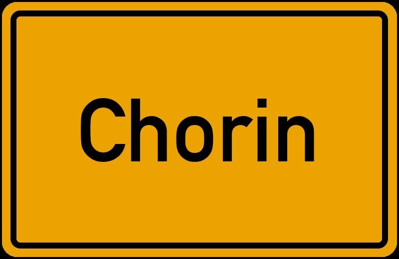 onlinestreet Branchenbuch für Chorin