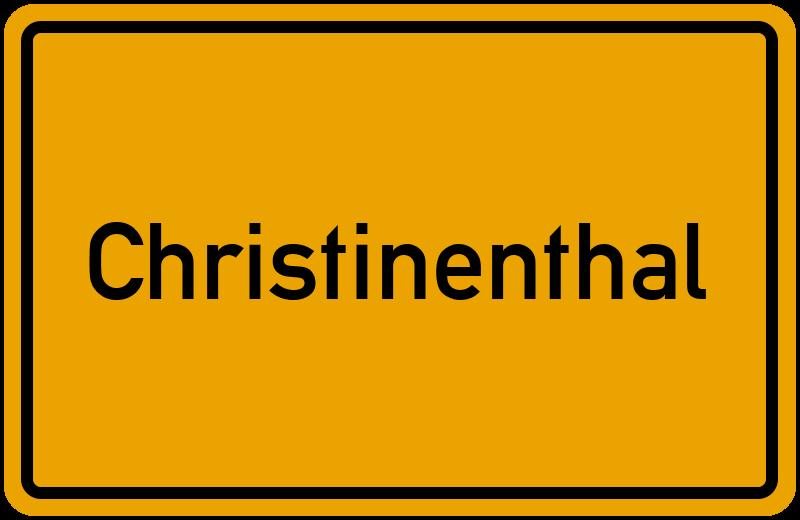onlinestreet Branchenbuch für Christinenthal