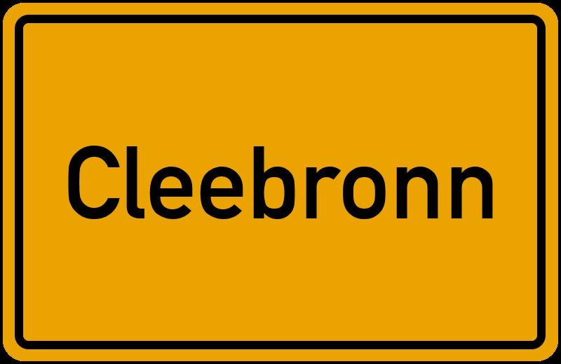 onlinestreet Branchenbuch für Cleebronn