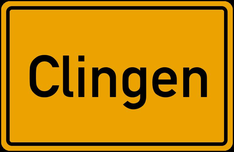 onlinestreet Branchenbuch für Clingen