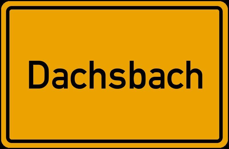 onlinestreet Branchenbuch für Dachsbach