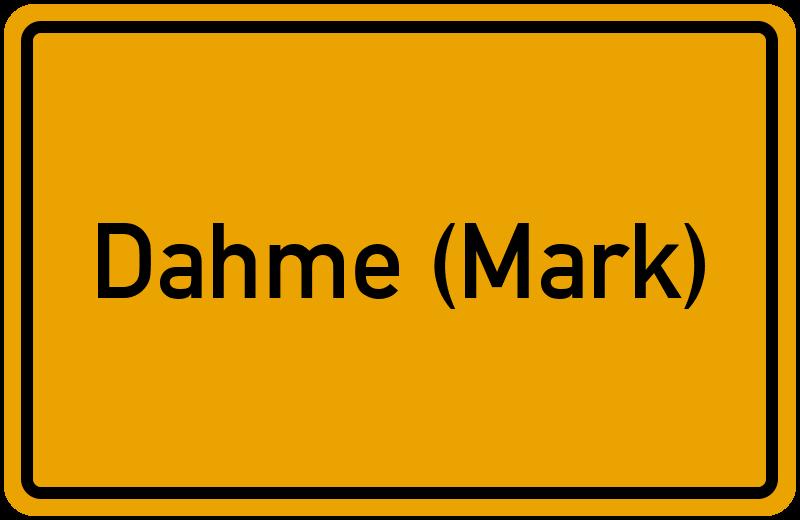 onlinestreet Branchenbuch für Dahme (Mark)