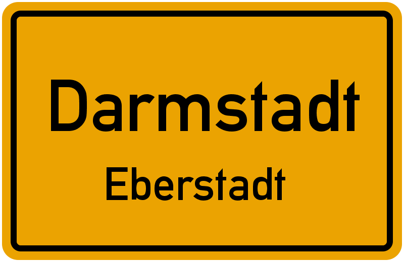 Darmstadt Eberstadt Stra Enverzeichnis Stra En In Eberstadt