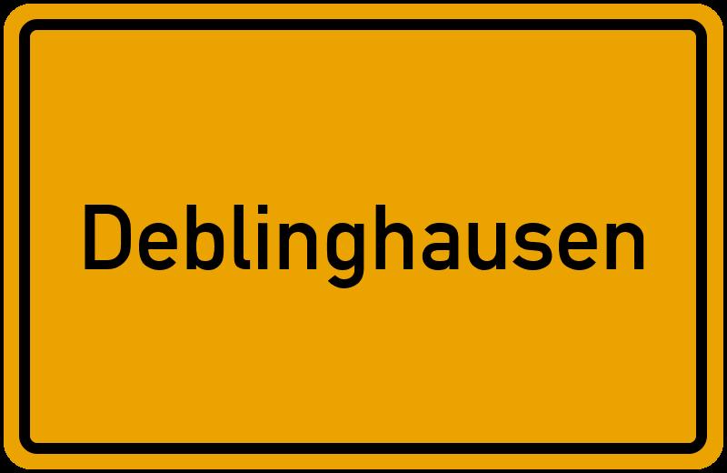 onlinestreet Branchenbuch für Deblinghausen