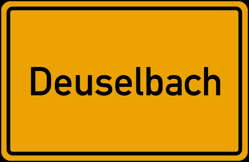 onlinestreet Branchenbuch für Deuselbach