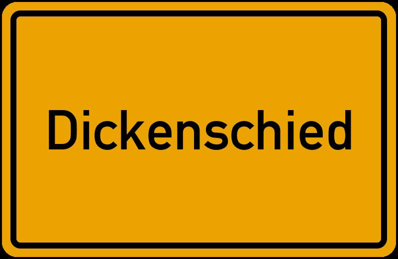 onlinestreet Branchenbuch für Dickenschied