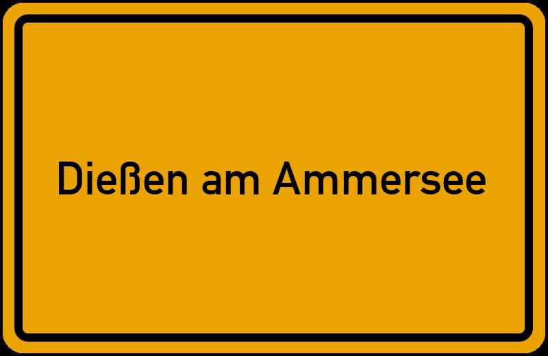 Wo Liegt Dießen Am Ammersee Lageplan Dießen Am Ammersee
