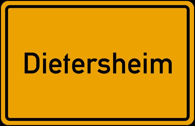 onlinestreet Branchenbuch für Dietersheim
