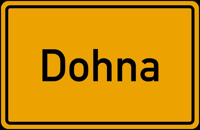 onlinestreet Branchenbuch für Dohna