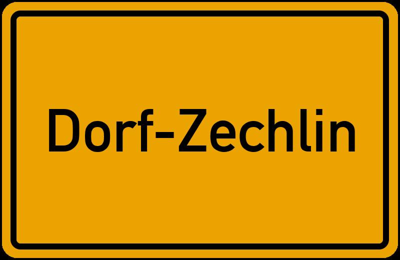 onlinestreet Branchenbuch für Dorf-Zechlin